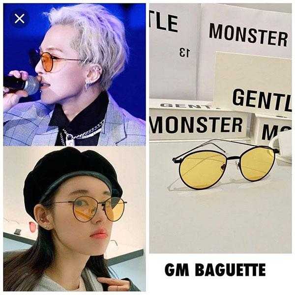 Kinh mat Gentle Monster Baguette M01 Mau vang