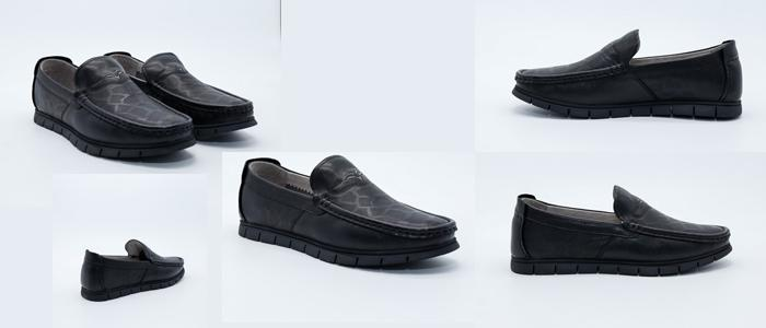 Mua Giày lười nam Aokang 181331158 Màu Đen, Size 43, Giá Rẻ Nhất
