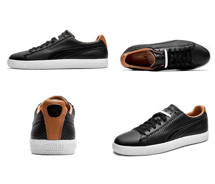 Mua Giày Thể Thao Puma Clyde Colorblock 2 màu đen, da cao cấp, giá tốt