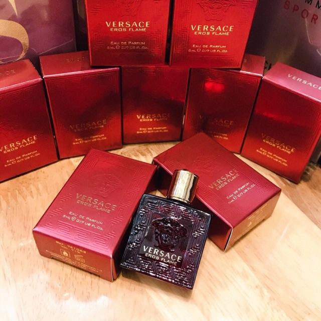 Mua Nước Hoa Versace Eros Flame EDP Cho Nam 5ml, hương nam tính, Giá tốt ảnh 2