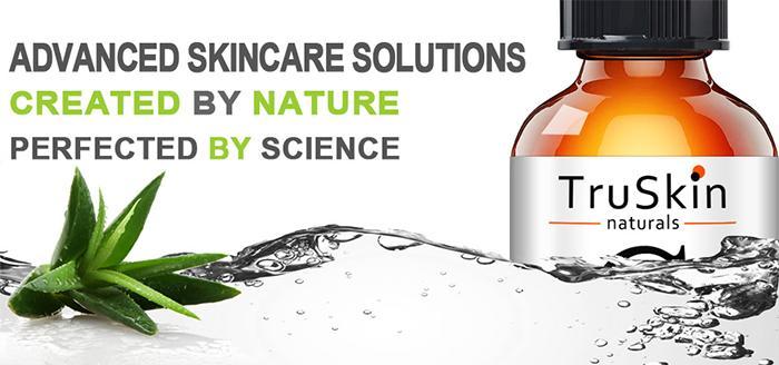 Mua Serum Truskin Naturals Vitamin C 20 E & Hyaluronic Acid 30ml hiệu quả, Giá tốt ảnh 1