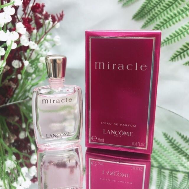 Mua Nước Hoa Lancome Miracle 5ml cho Nữ, Chai thủy tinh hồng, Giá Tốt ảnh 5