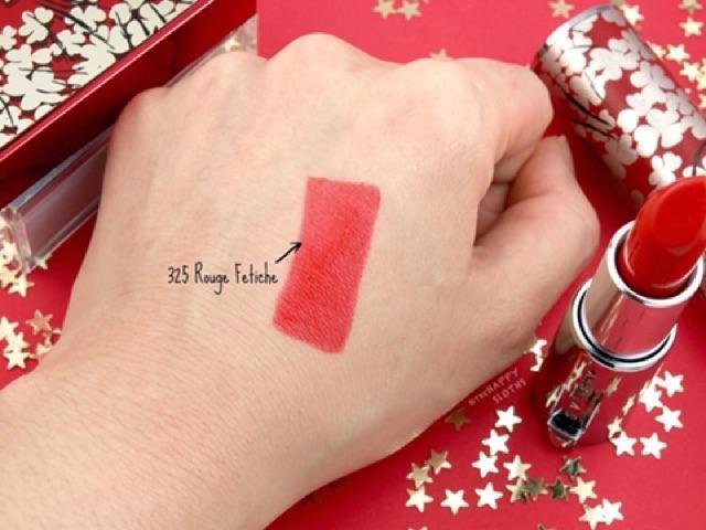 Son Givenchy Lunar 325 Rouge Fetiche Màu Đỏ Hồng 2