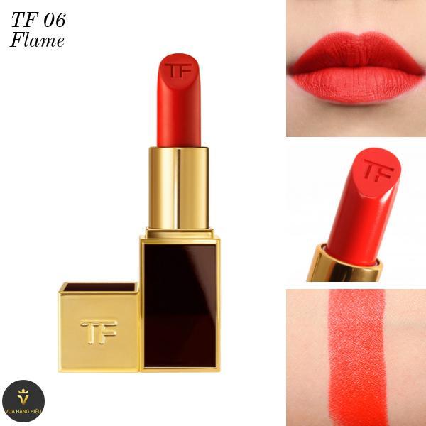 Son Tom Ford Lip Color Matte Lipstick 06 Flame