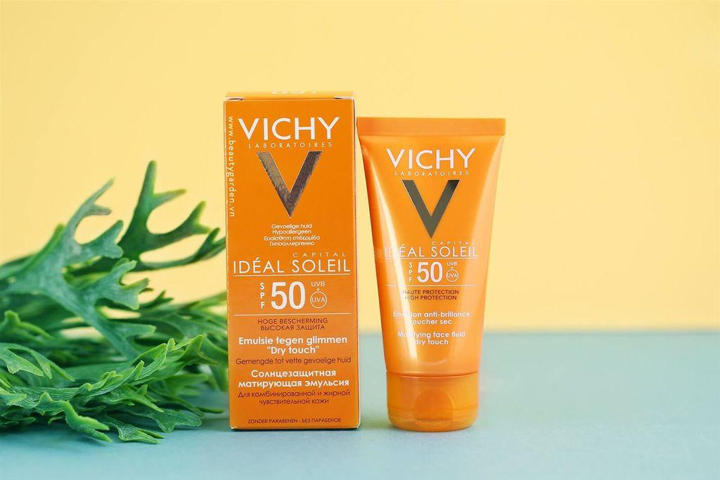 Thanh phan kem chong nang vichy ideal soleil 50g